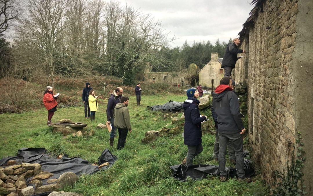 Première formation rénovation du patrimoine breton